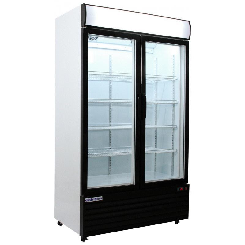 Armario expositor refrigerado 2 puertas 771 l electrimart for Utillaje cocina