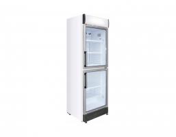 Armario expositor refrigerado 2 puertas 372 L